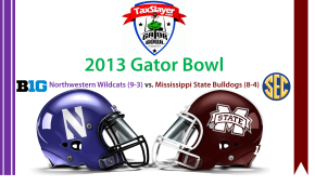 2013 Gator Bowl background