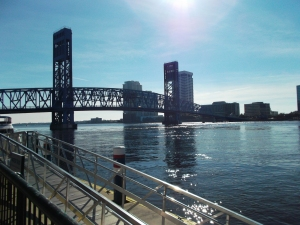 Gator Bowl Northwestern Mississippi State Jacksonville Bridge