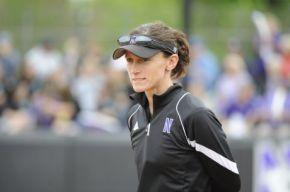 Kate Drohan has built Northwestern softball into a contender. Photo via TribLocal.com