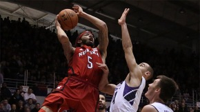 Terran Petteway has led a surprising Nebraska team to the NCAA bubble in 2014. (Dennis Wierzbicki-USA TODAY Sports)