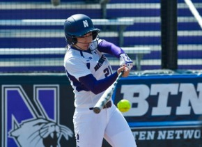 Marisa Bast Northwestern Softball
