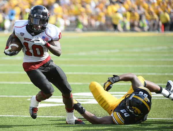 Tommylee Lewis and Northern Illinois left Iowa in the dust last season. How can the Wildcats avoid becoming NIU's latest Big Ten victim? Photo credit: Mike DiNovo, USA Today