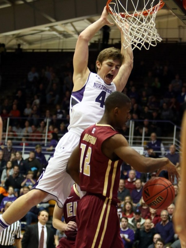 Gavin Skelly saw some minutes last week for the Wildcats, who beat Elon and Miami (Ohio) before losing to Northern Iowa.