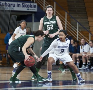 Ben and Jason think Northwestern's women's basketball team could be headed towards the NCAA tournament, thanks in part to Ashley Deary's improved offense and stellar defense. S.J. Carrera/Northwestern Athletics