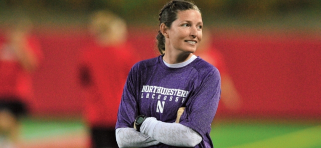 Is an 11th straight Final Four in the cards for coach Kelly Amonte Hiller and Northwestern women's lacrosse? Photo credit: Stephen J. Carrera