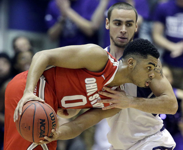D'Angelo Russell showed Northwestern why he is a Big Ten player of the year and freshman of the year candidate in January.  Photo credit: Nam Y. Huh, AP.