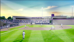 Northwestern will unveil its renovated baseball stadium, Rocky Miller Park, this week. Credit: Northwestern University