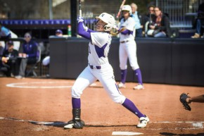 Andrea DiPrima hit .389 this season with 10 home runs and 45 RBIs, which landed her Second Team All-Big Ten honors. Photo Credit: Lauren Duquette/The Daily Northwestern