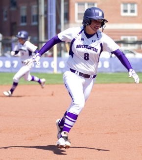 Amy Letourneau and Northwestern are headed to the NCAA tournament in South Bend, Indiana. Photo credit: Meghan White, Daily Northwestern