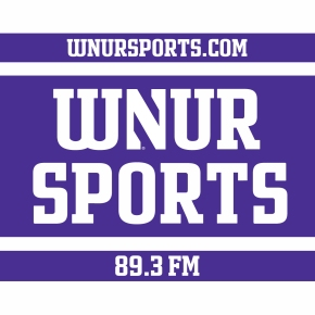 WNUR square white logo