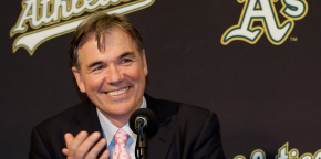 "Billy Beane revolutionized baseball through his use of sabermetrics and ""moneyball."" Photo: Cheap Seat Chronicles"