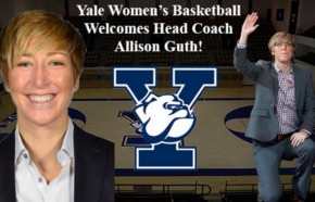 Allison Guth is leaving Northwestern to become head women's basketball coach at Yale. Photo credit: YaleWBB Instagram