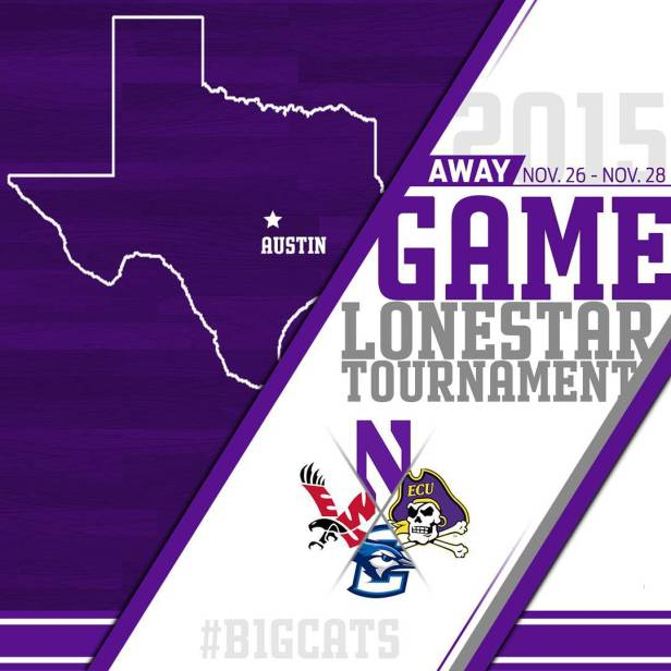 The Wildcats head to Austin, Texas for three of their 12 non-conference games. Photo credit: Northwestern women's basketball Instagram page.