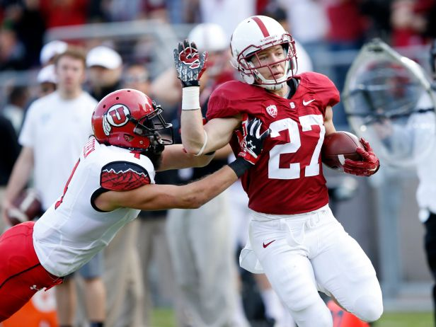 Christian McCaffery looks to be next in a long line of powerful Stanford running backs, none of whom have made big impacts in the NFL.