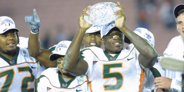 "Willis McGahee, Clinton Portis, Frank Gore and the Hurricanes took home the BCS Championship and the slightly less prestigious title of WNUR's ""Running Back U."""