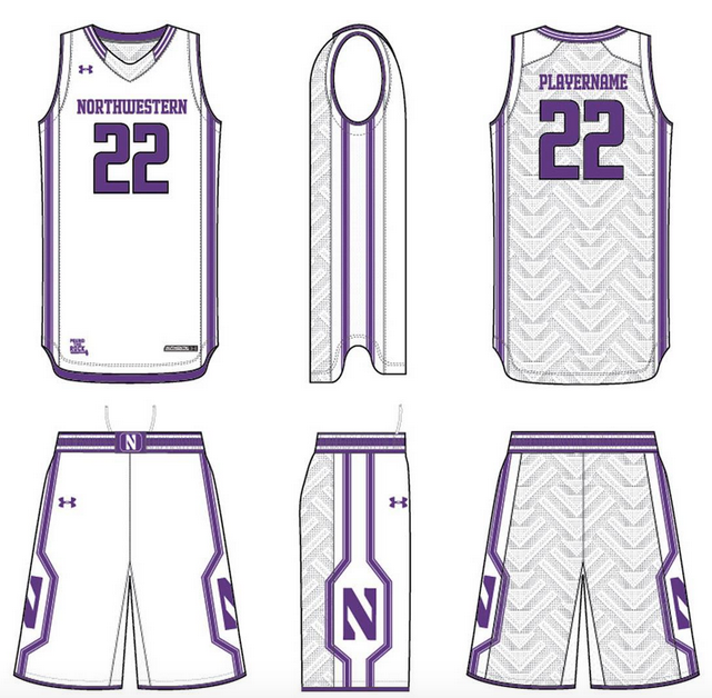 218fd393a69a NU Men s Basketball rolling out new uniforms. – WNUR Sports