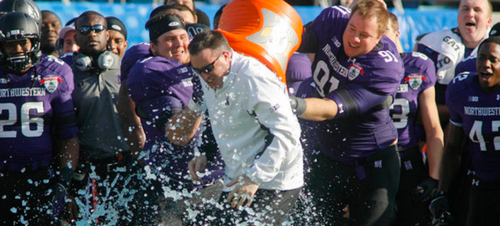 Last time Northwestern went bowling, the Wildcats finished 10-3 with a Gator Bowl victory. Photo Credit: Phil Sears - USA TODAY Sports