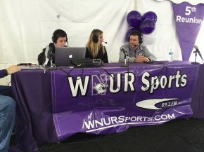 pre game show with Darren Rovell