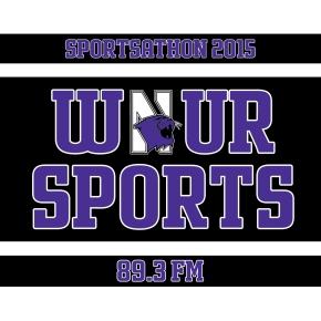 WNUR Sportsathon 2015 Official Logo