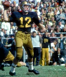 Future Dolphin quarterback Bob Griese led Purdue to the only Rose Bowl victory in school history.