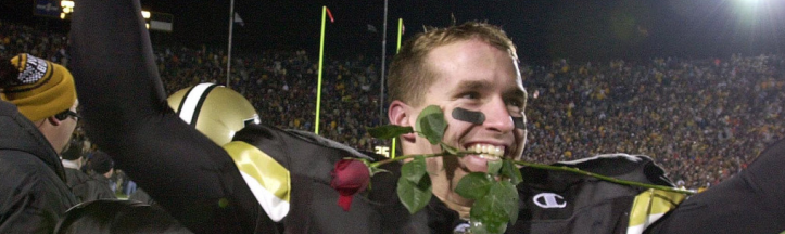 Drew Brees took Purdue to the 2001 Rose Bowl, but was that the best team in Boilermaker history?
