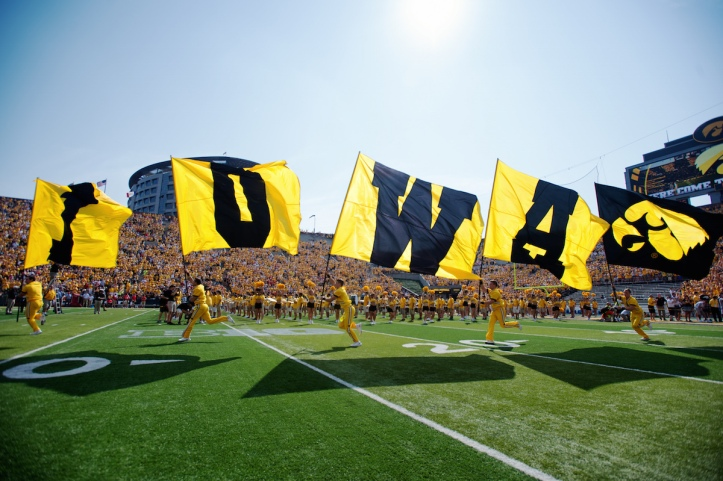 Iowa vs Illinois State Football, September 5, 2015