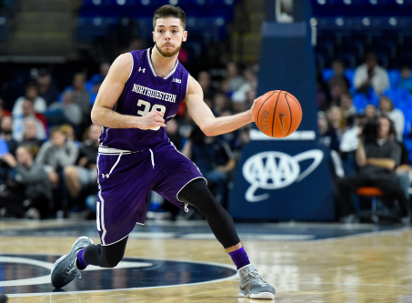 Bryant McIntosh led the way with 20 points and ten assists as the Wildcats clobbered Iowa.